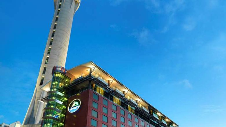 """SKYCITY Hotel Exterior. Images powered by <a href=""""http://web.iceportal.com"""" target=""""_blank"""" rel=""""noopener"""">Ice Portal</a>."""