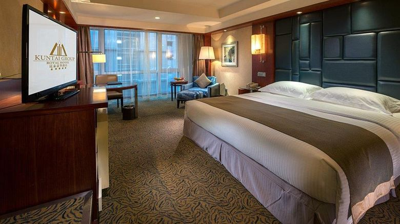 """KunTai Royal Hotel Beijing Room. Images powered by <a href=""""http://web.iceportal.com"""" target=""""_blank"""" rel=""""noopener"""">Ice Portal</a>."""