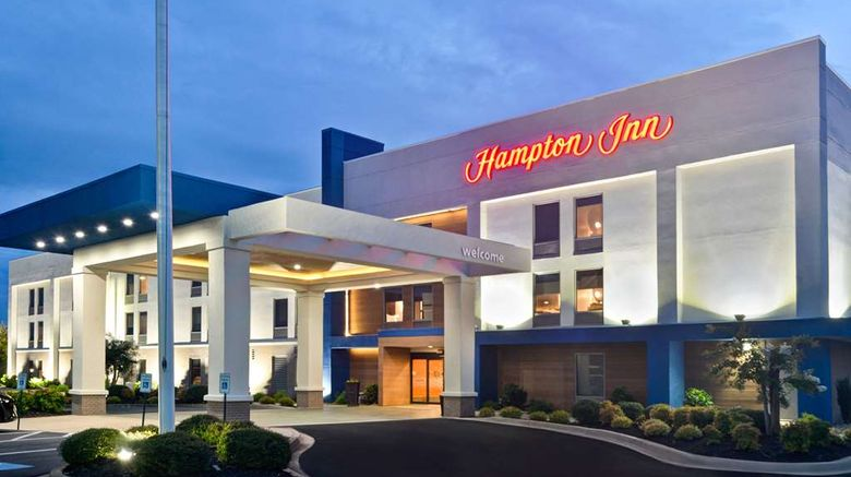 """Hampton Inn Anderson Exterior. Images powered by <a href=""""http://web.iceportal.com"""" target=""""_blank"""" rel=""""noopener"""">Ice Portal</a>."""