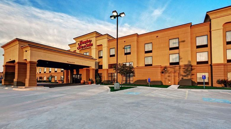 """Hampton Inn  and  Suites Altus Exterior. Images powered by <a href=""""http://web.iceportal.com"""" target=""""_blank"""" rel=""""noopener"""">Ice Portal</a>."""