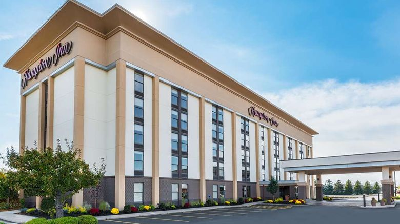 """Hampton Inn Buffalo-Airport/Galleria Mal Exterior. Images powered by <a href=""""http://web.iceportal.com"""" target=""""_blank"""" rel=""""noopener"""">Ice Portal</a>."""