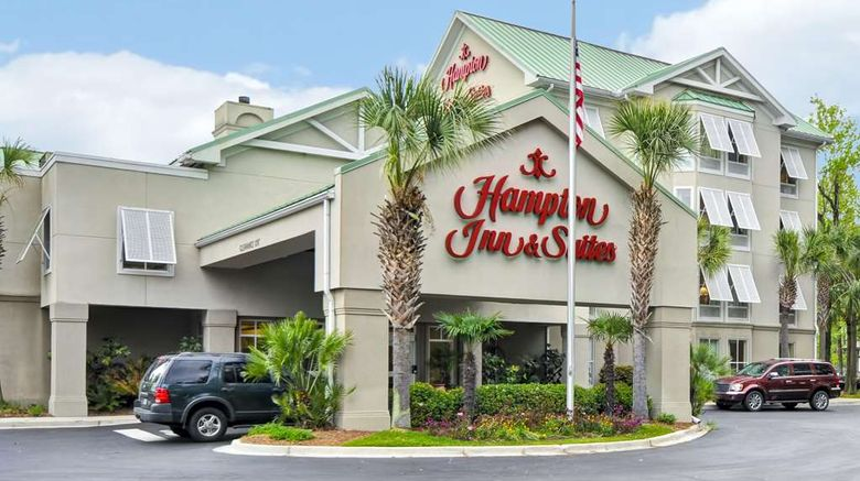 """Hampton Inn Charleston/West Ashley Exterior. Images powered by <a href=""""http://web.iceportal.com"""" target=""""_blank"""" rel=""""noopener"""">Ice Portal</a>."""