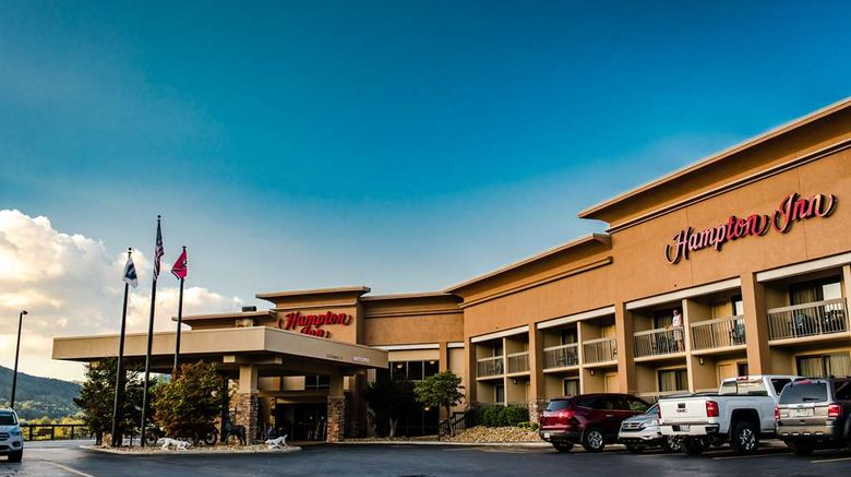 """Hampton Inn Caryville Exterior. Images powered by <a href=""""http://web.iceportal.com"""" target=""""_blank"""" rel=""""noopener"""">Ice Portal</a>."""