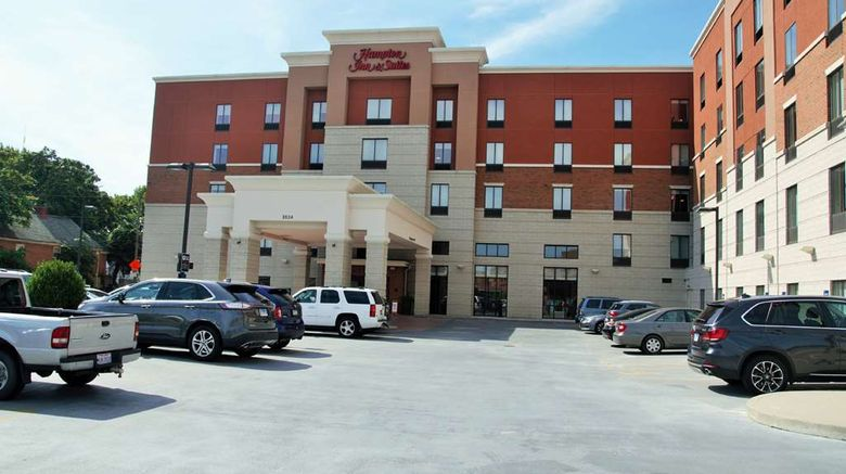 """Hampton Inn  and  Suites Uptown-University Exterior. Images powered by <a href=""""http://web.iceportal.com"""" target=""""_blank"""" rel=""""noopener"""">Ice Portal</a>."""