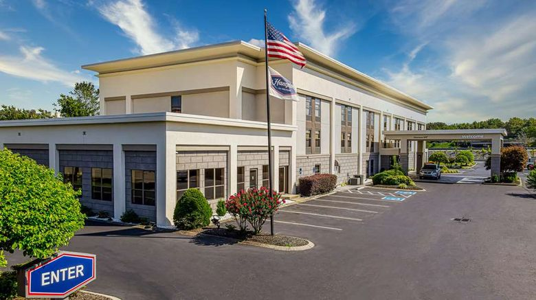 """Hampton Inn Dickson Exterior. Images powered by <a href=""""http://web.iceportal.com"""" target=""""_blank"""" rel=""""noopener"""">Ice Portal</a>."""