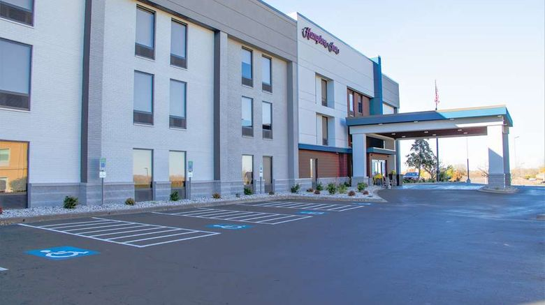 """Hampton Inn Danville Exterior. Images powered by <a href=""""http://web.iceportal.com"""" target=""""_blank"""" rel=""""noopener"""">Ice Portal</a>."""