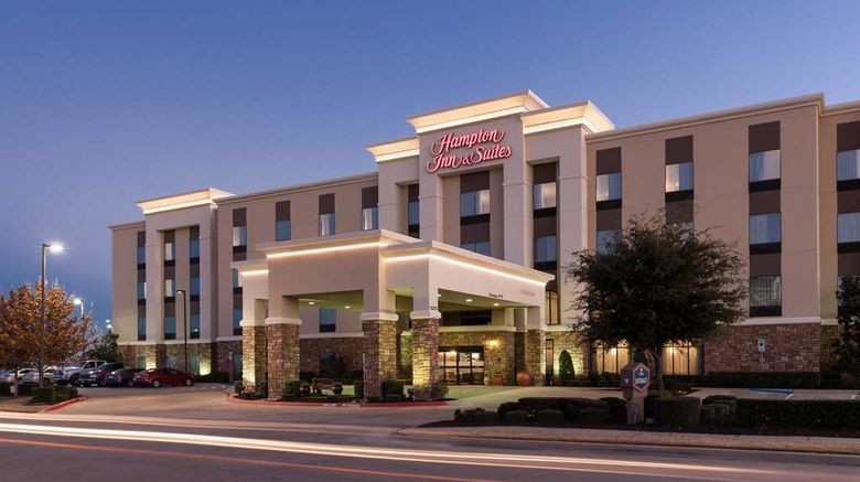 """Hampton Inn  and  Suites Burleson Exterior. Images powered by <a href=""""http://web.iceportal.com"""" target=""""_blank"""" rel=""""noopener"""">Ice Portal</a>."""