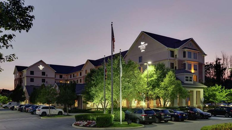 """Homewood Suites Hagerstown Exterior. Images powered by <a href=""""http://web.iceportal.com"""" target=""""_blank"""" rel=""""noopener"""">Ice Portal</a>."""