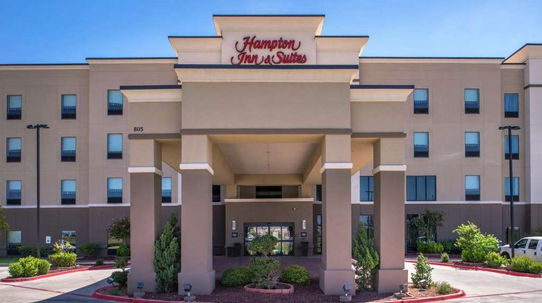 """Hampton Inn  and  Suites Big Spring Exterior. Images powered by <a href=""""http://web.iceportal.com"""" target=""""_blank"""" rel=""""noopener"""">Ice Portal</a>."""