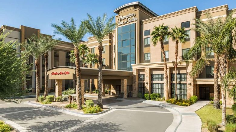 """Hampton Inn  and  Suites Glendale-Westgate Exterior. Images powered by <a href=""""http://web.iceportal.com"""" target=""""_blank"""" rel=""""noopener"""">Ice Portal</a>."""
