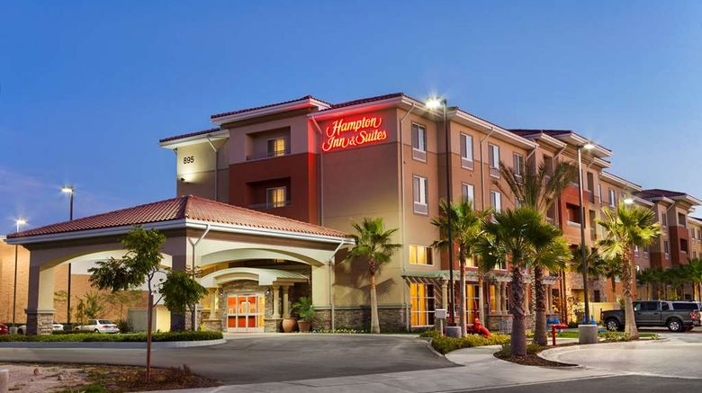 """Hampton Inn  and  Suites, San Bernardino Exterior. Images powered by <a href=""""http://web.iceportal.com"""" target=""""_blank"""" rel=""""noopener"""">Ice Portal</a>."""