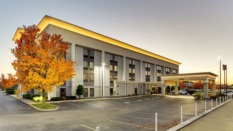 """Hampton Inn Springfield Exterior. Images powered by <a href=""""http://web.iceportal.com"""" target=""""_blank"""" rel=""""noopener"""">Ice Portal</a>."""