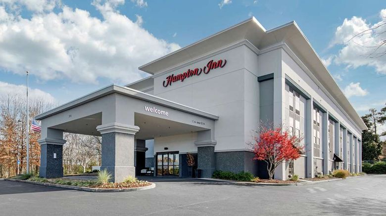 """Hampton Inn Starkville Exterior. Images powered by <a href=""""http://web.iceportal.com"""" target=""""_blank"""" rel=""""noopener"""">Ice Portal</a>."""