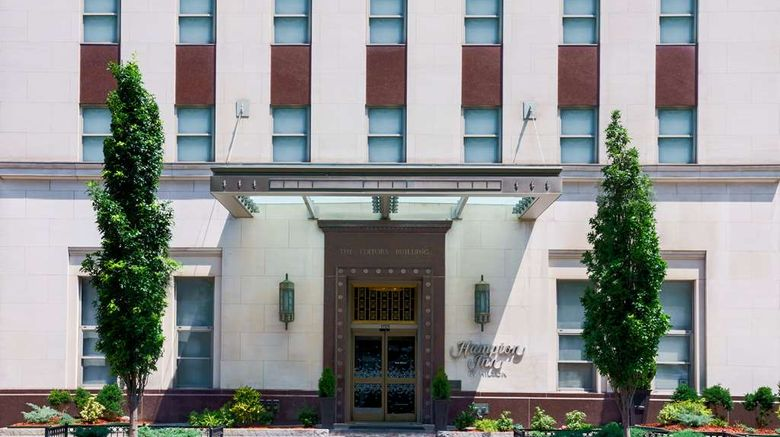 """Hampton Inn Washington, DC/White House Exterior. Images powered by <a href=""""http://web.iceportal.com"""" target=""""_blank"""" rel=""""noopener"""">Ice Portal</a>."""
