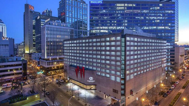 """Doubletree Hotel Nashville Exterior. Images powered by <a href=""""http://web.iceportal.com"""" target=""""_blank"""" rel=""""noopener"""">Ice Portal</a>."""