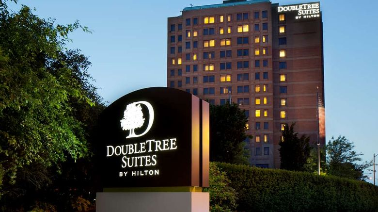 """DoubleTree Suites Hotel Boston-Cambridge Exterior. Images powered by <a href=""""http://web.iceportal.com"""" target=""""_blank"""" rel=""""noopener"""">Ice Portal</a>."""