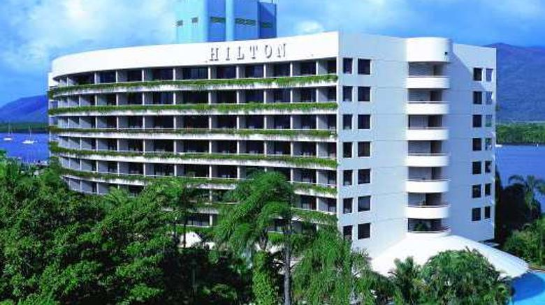 """Hilton Cairns Exterior. Images powered by <a href=""""http://web.iceportal.com"""" target=""""_blank"""" rel=""""noopener"""">Ice Portal</a>."""