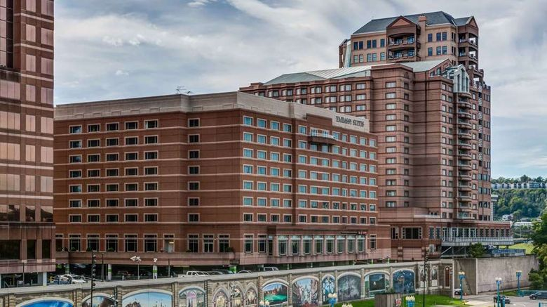"""Embassy Suites Cincinnati River Center Exterior. Images powered by <a href=""""http://web.iceportal.com"""" target=""""_blank"""" rel=""""noopener"""">Ice Portal</a>."""