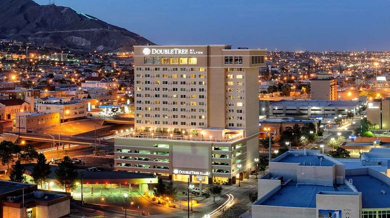 """Doubletree by Hilton El Paso Downtown Exterior. Images powered by <a href=""""http://web.iceportal.com"""" target=""""_blank"""" rel=""""noopener"""">Ice Portal</a>."""