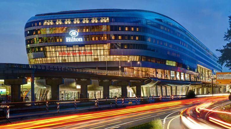 "Hilton Garden Inn Frankfurt Airport Exterior. Images powered by <a href=""http://web.iceportal.com"" target=""_blank"" rel=""noopener"">Ice Portal</a>."