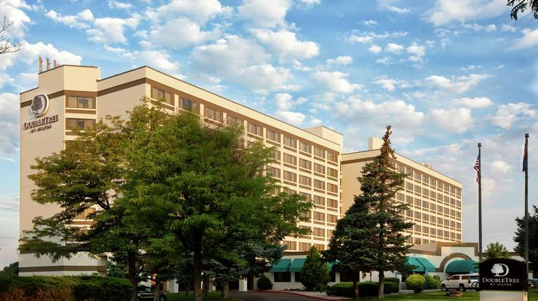 """DoubleTree by Hilton Grand Junction Exterior. Images powered by <a href=""""http://web.iceportal.com"""" target=""""_blank"""" rel=""""noopener"""">Ice Portal</a>."""