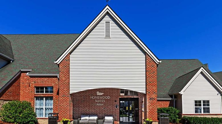 """Homewood Suites by Hilton Greensboro Exterior. Images powered by <a href=""""http://web.iceportal.com"""" target=""""_blank"""" rel=""""noopener"""">Ice Portal</a>."""