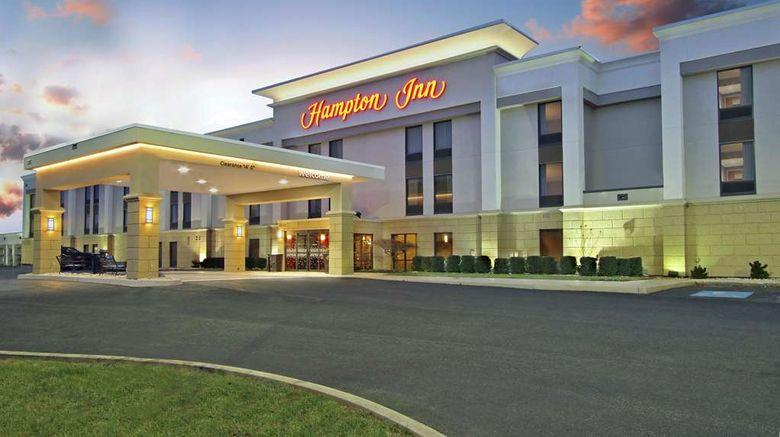 """Hampton Inn Hagerstown-I-81 MD Exterior. Images powered by <a href=""""http://web.iceportal.com"""" target=""""_blank"""" rel=""""noopener"""">Ice Portal</a>."""