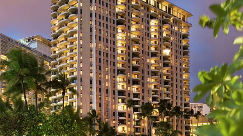 """Hilton Grand Vac Hilton Hawaiian Village Exterior. Images powered by <a href=""""http://web.iceportal.com"""" target=""""_blank"""" rel=""""noopener"""">Ice Portal</a>."""