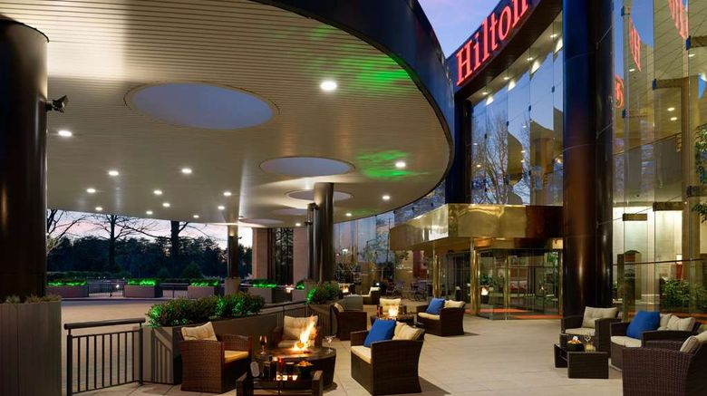 """Hilton Washington Dulles Airport Exterior. Images powered by <a href=""""http://web.iceportal.com"""" target=""""_blank"""" rel=""""noopener"""">Ice Portal</a>."""