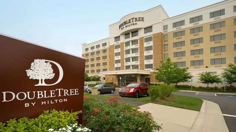 """Doubletree by Hilton Sterling Dulles Exterior. Images powered by <a href=""""http://web.iceportal.com"""" target=""""_blank"""" rel=""""noopener"""">Ice Portal</a>."""