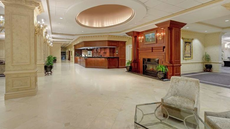 """Hilton Jackson  and  Conference Center Lobby. Images powered by <a href=""""http://web.iceportal.com"""" target=""""_blank"""" rel=""""noopener"""">Ice Portal</a>."""