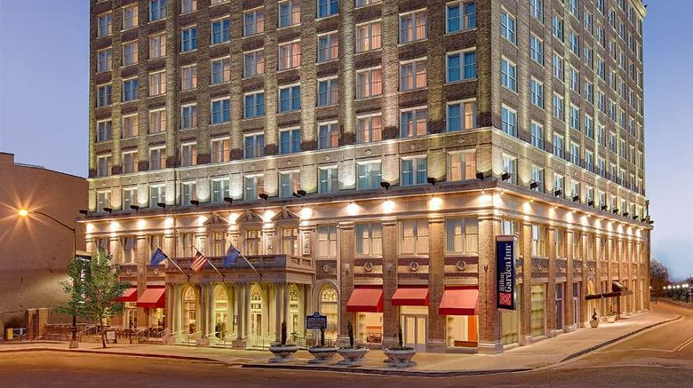 """Hilton Garden Inn - Jackson/Downtown Exterior. Images powered by <a href=""""http://web.iceportal.com"""" target=""""_blank"""" rel=""""noopener"""">Ice Portal</a>."""