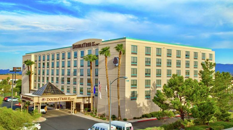 """DoubleTree by Hilton Las Vegas Airport Exterior. Images powered by <a href=""""http://web.iceportal.com"""" target=""""_blank"""" rel=""""noopener"""">Ice Portal</a>."""
