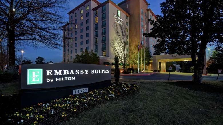 """Embassy Suites Little Rock Exterior. Images powered by <a href=""""http://web.iceportal.com"""" target=""""_blank"""" rel=""""noopener"""">Ice Portal</a>."""