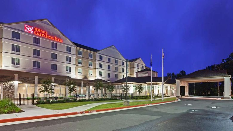 """Hilton Garden Inn West Little Rock Exterior. Images powered by <a href=""""http://web.iceportal.com"""" target=""""_blank"""" rel=""""noopener"""">Ice Portal</a>."""