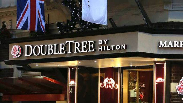 """DoubleTree by Hilton London Marble Arch Exterior. Images powered by <a href=""""http://web.iceportal.com"""" target=""""_blank"""" rel=""""noopener"""">Ice Portal</a>."""