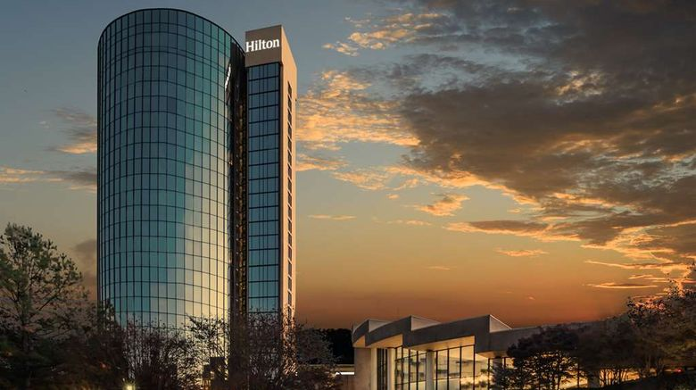 """Hilton Memphis Exterior. Images powered by <a href=""""http://web.iceportal.com"""" target=""""_blank"""" rel=""""noopener"""">Ice Portal</a>."""