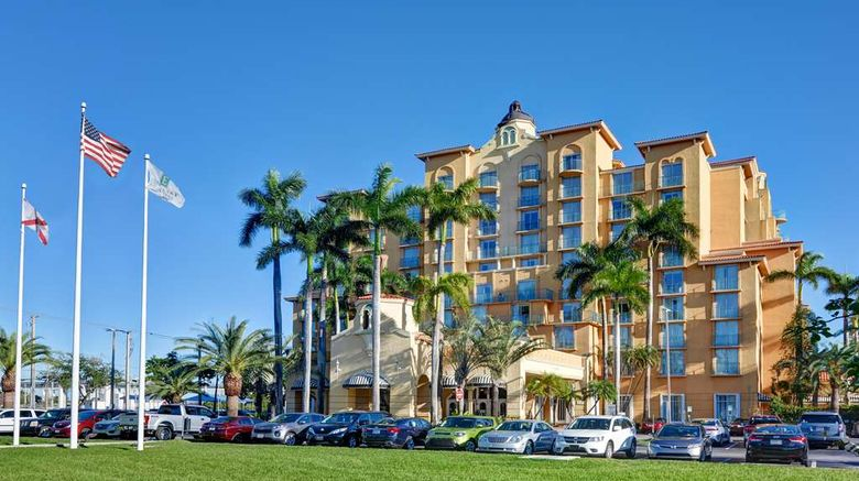 """Embassy Suites-Miami Airport Exterior. Images powered by <a href=""""http://web.iceportal.com"""" target=""""_blank"""" rel=""""noopener"""">Ice Portal</a>."""