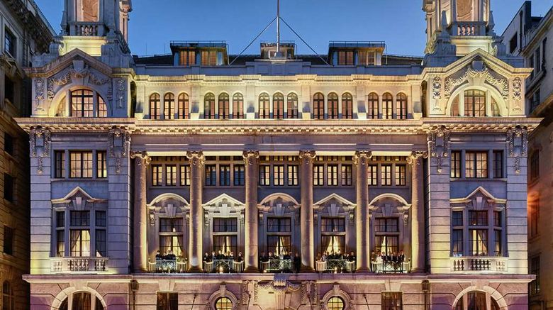 """Waldorf Astoria Shanghai on the Bund Exterior. Images powered by <a href=""""http://web.iceportal.com"""" target=""""_blank"""" rel=""""noopener"""">Ice Portal</a>."""