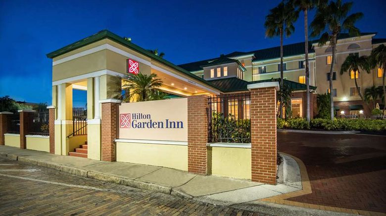 """Hilton Garden Inn Ybor Historic District Exterior. Images powered by <a href=""""http://web.iceportal.com"""" target=""""_blank"""" rel=""""noopener"""">Ice Portal</a>."""