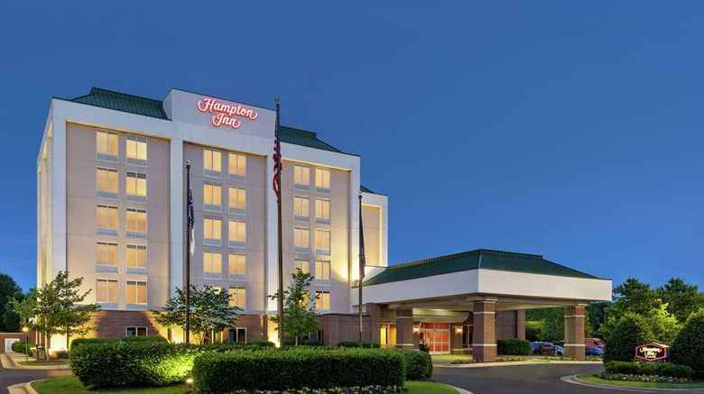"""Hampton Inn Dulles/Cascades Exterior. Images powered by <a href=""""http://web.iceportal.com"""" target=""""_blank"""" rel=""""noopener"""">Ice Portal</a>."""