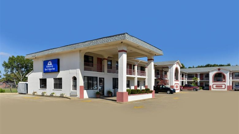 """Americas Best Value Inn Meridian Exterior. Images powered by <a href=""""http://web.iceportal.com"""" target=""""_blank"""" rel=""""noopener"""">Ice Portal</a>."""