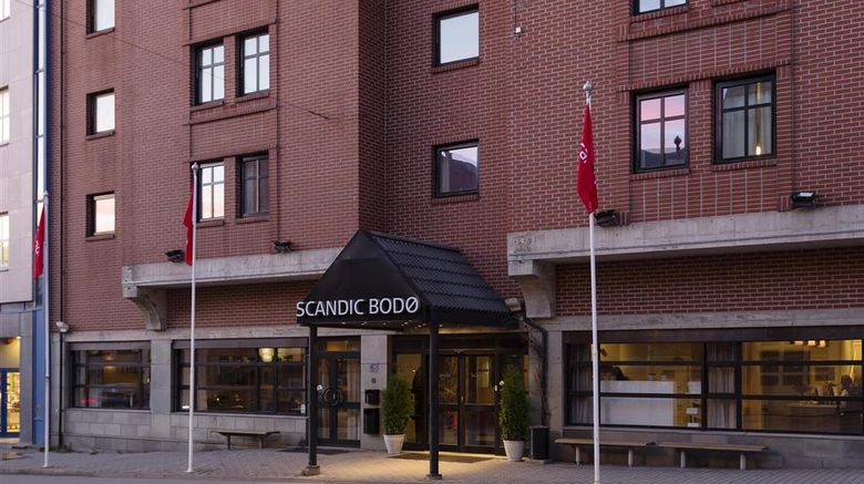 """Scandic Hotel Bodo Exterior. Images powered by <a href=""""http://web.iceportal.com"""" target=""""_blank"""" rel=""""noopener"""">Ice Portal</a>."""