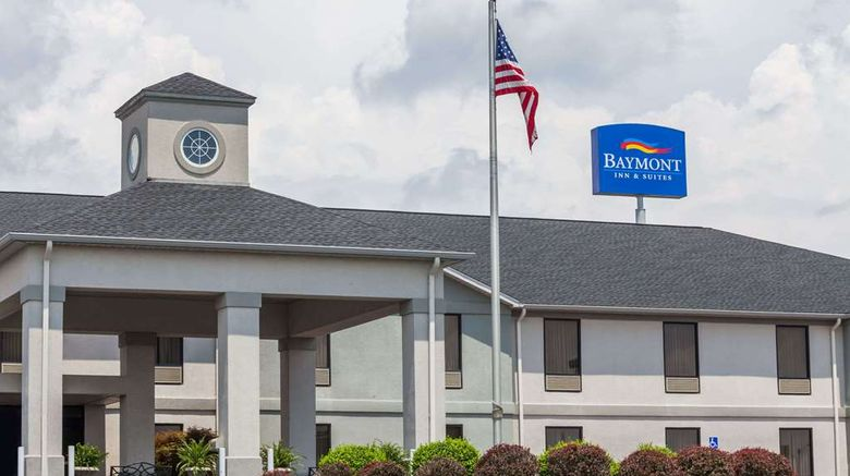 """Baymont Inn  and  Suites Madisonville Exterior. Images powered by <a href=""""http://web.iceportal.com"""" target=""""_blank"""" rel=""""noopener"""">Ice Portal</a>."""