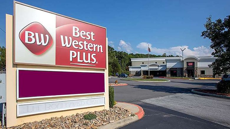 """Best Western Plus University Inn Exterior. Images powered by <a href=""""http://web.iceportal.com"""" target=""""_blank"""" rel=""""noopener"""">Ice Portal</a>."""