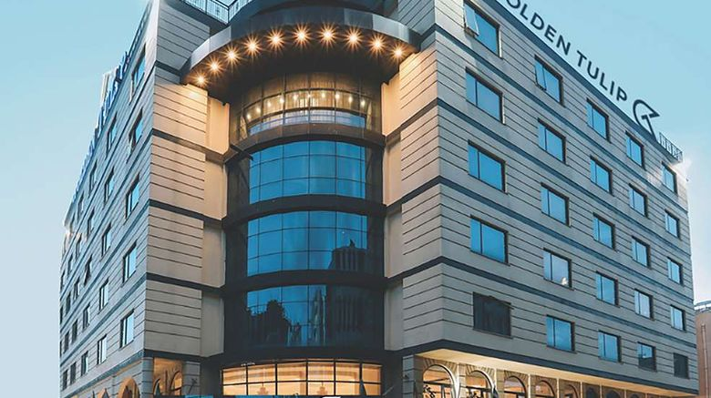 """Golden Tulip Addis Ababa Exterior. Images powered by <a href=""""http://web.iceportal.com"""" target=""""_blank"""" rel=""""noopener"""">Ice Portal</a>."""