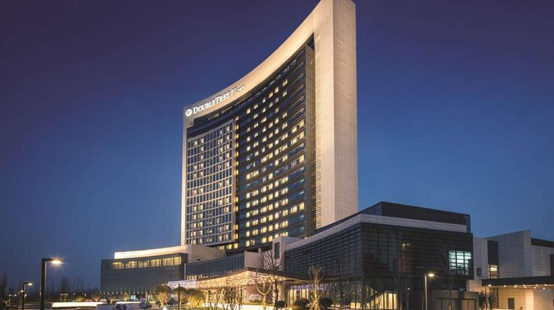 """DoubleTree by Hilton Hotel Anhui-Suzhou Exterior. Images powered by <a href=""""http://web.iceportal.com"""" target=""""_blank"""" rel=""""noopener"""">Ice Portal</a>."""