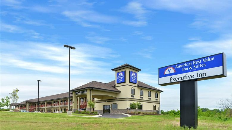 """Americas Best Value Inn Tupelo Exterior. Images powered by <a href=""""http://web.iceportal.com"""" target=""""_blank"""" rel=""""noopener"""">Ice Portal</a>."""