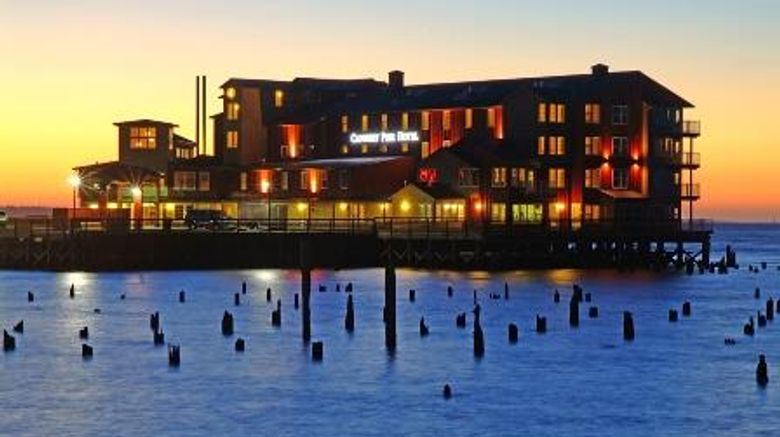 """Cannery Pier Hotel  and  Spa Exterior. Images powered by <a href=""""http://web.iceportal.com"""" target=""""_blank"""" rel=""""noopener"""">Ice Portal</a>."""
