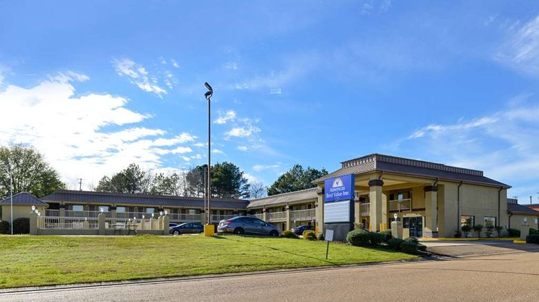 """Americas Best Value Inn Byram Exterior. Images powered by <a href=""""http://web.iceportal.com"""" target=""""_blank"""" rel=""""noopener"""">Ice Portal</a>."""